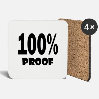 Proof 100 proof - Coasters