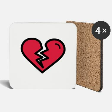 Heartache Broken heart, heartache sadly in love - Coasters