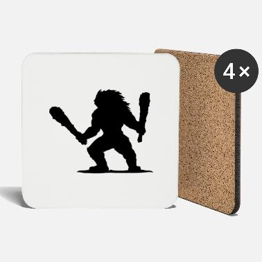 Barbarian Drummer - Coasters