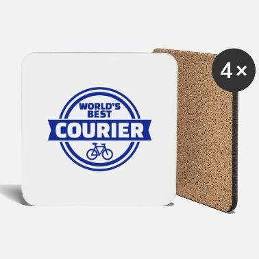 Courier World's best bike courier - Coasters