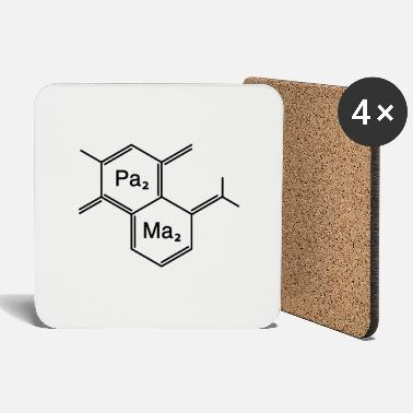 Humorous Son Provoking chemical papa + mama - Coasters