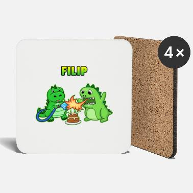 Filip Filip birthday gift - Coasters