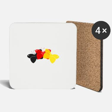 Germany Butterflies - Coasters