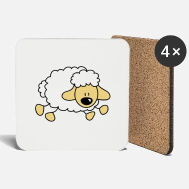 Gallop Galloping sheep - Coasters
