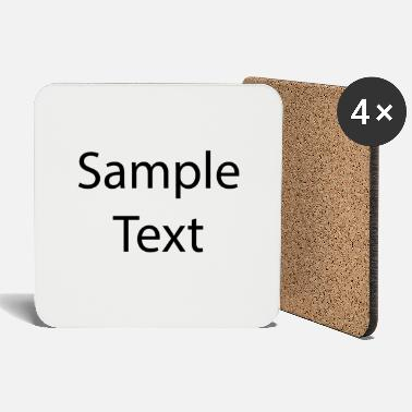 Text Sample text - Coasters