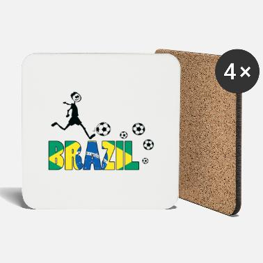 Worldcup GO GO Brazil - Coasters