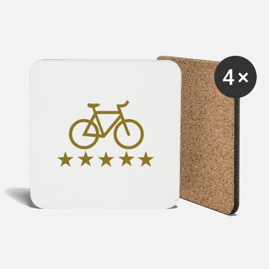 Sports Mugs & Drinkware - Bike - Coasters white