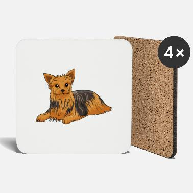 Staffordshire Yorkshire Terrier Dog - Coasters