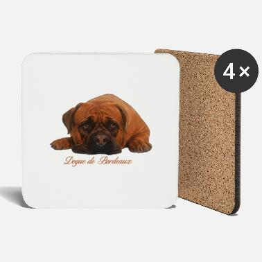 Dogue De Bordeaux Dogue de Bordeaux Digital Art - Coasters