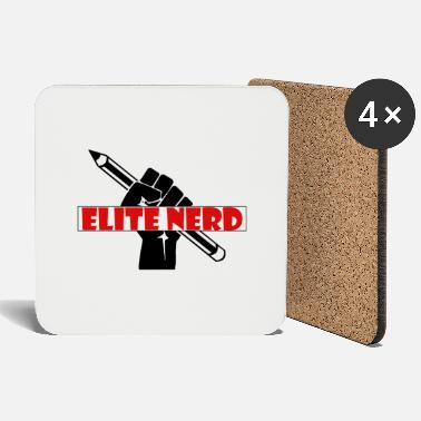 Education Culture Elite Nerd - The Education Warrior - Coasters