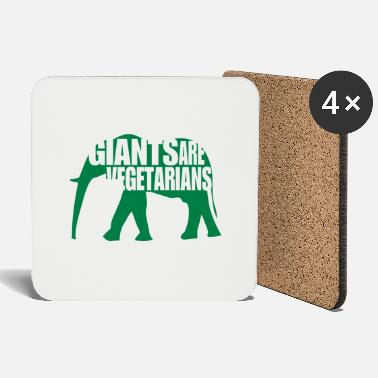 Giant giants are vegetarians - Coasters