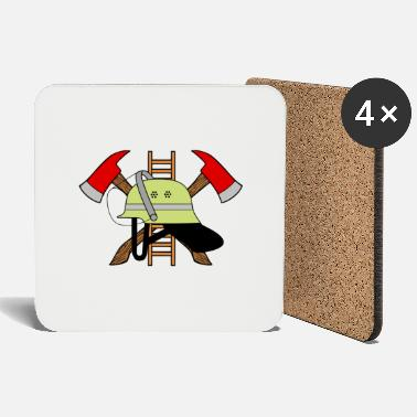 Fire department logo - Coasters