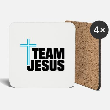 Orthodox Team Jesus -blackblue- - Coasters