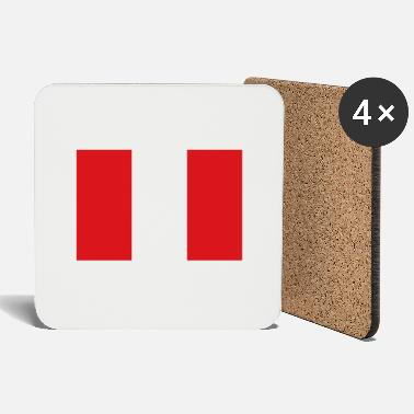 Cusco National Flag Of Peru - Coasters