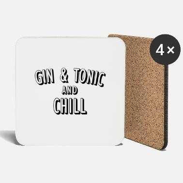 Anden Gin and Tonic and Chill - Untersetzer