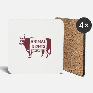 Animal Rights Animal Rights COW - Coasters