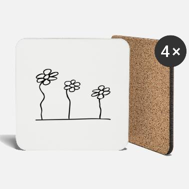 Series flower series - Coasters