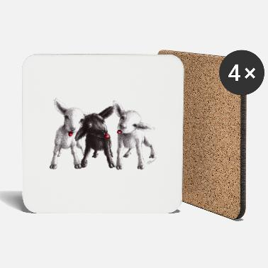cheeky sheep - Coasters
