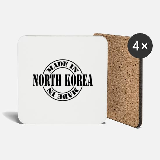 National Tassen & Becher - made in north korea m1k2 - Untersetzer Weiß