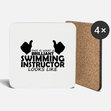 Swimming Instructor brilliant swimming instructor - Coasters