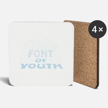 Vgadesign FONT OF YOUTH - Sottobicchieri