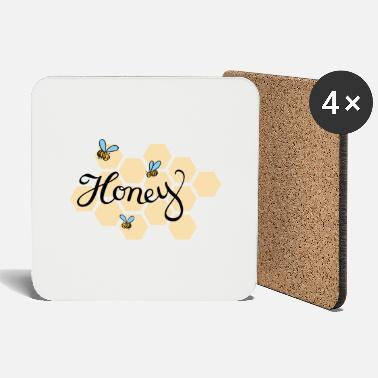 Honey Bee Honey bee - Coasters