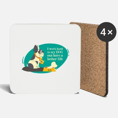 Funny Collection V2 dog - Coasters