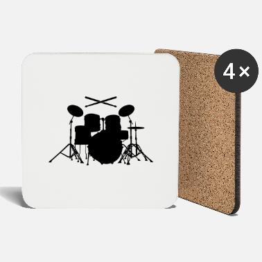 Sticks Drums with sticks - Coasters