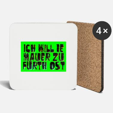 Walls Fell Fuerth wall - Coasters