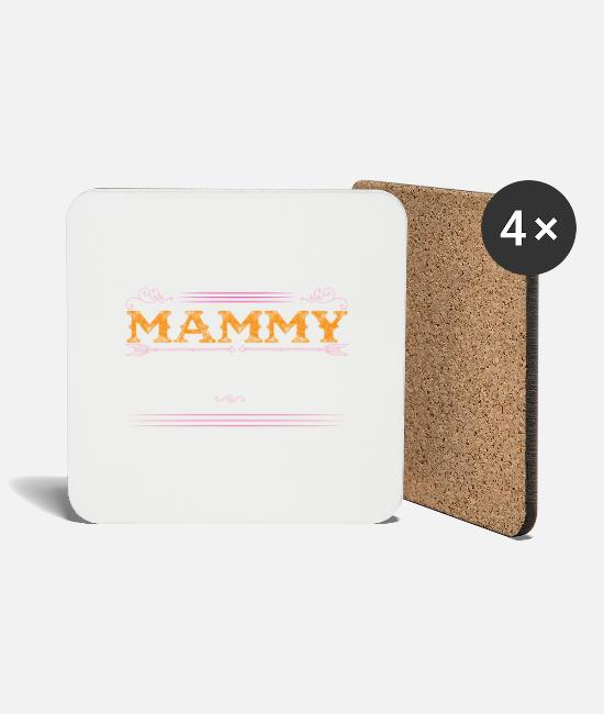 Best Mugs & Drinkware - Mammy The Legend... - Coasters white