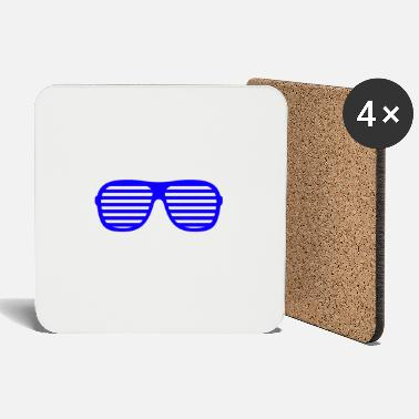 Shade blue shades - Coasters