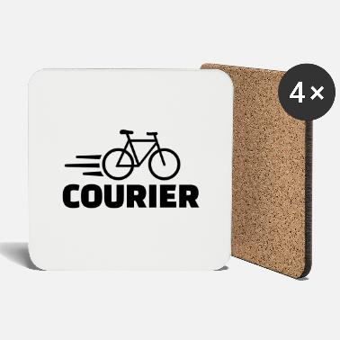 Courier Bike courier - Coasters