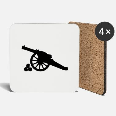 Cannon cannon ball cannon weapon kanone2 - Coasters