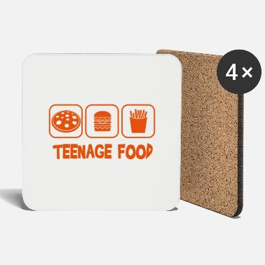Teenager Teenage food - Dessous de verre