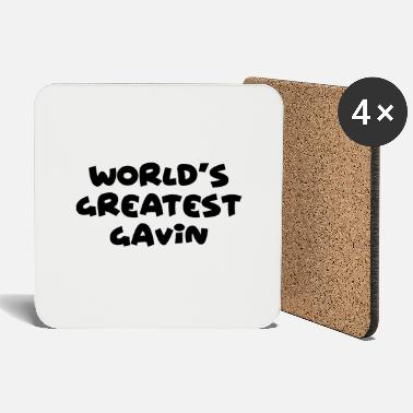 Gavin worlds greatest gavin name - Coasters