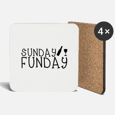 Funday Sunday Funday - Coasters