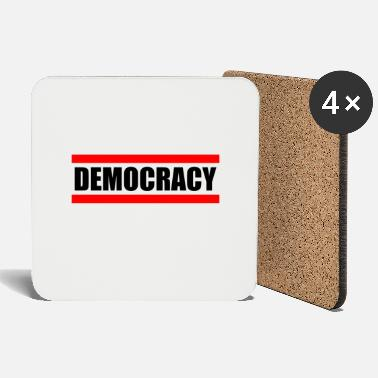 Democracy DEMOCRACY - democracy - Coasters