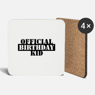 Birthday Kids official birthday kid (1c) - Coasters