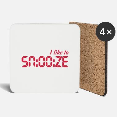 I Like To Snooze - Coasters