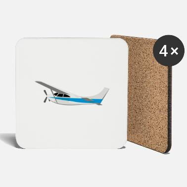 Symbols-shapes Glider symbol icon shape - Coasters