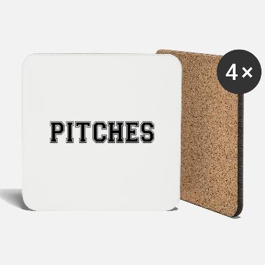 Pitching pitches - Coasters