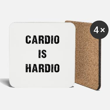 Funny Gym workout design, Funny Running graphic - Coasters