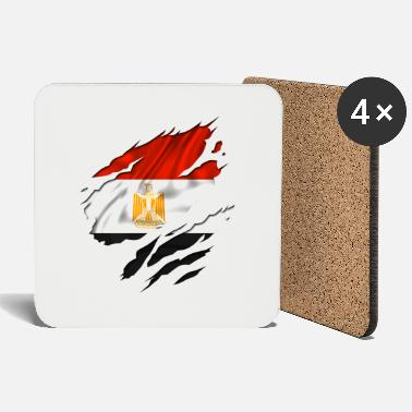 Country Flag Football Sport And Arab Art Jesus egypt egyptian egyption - Coasters