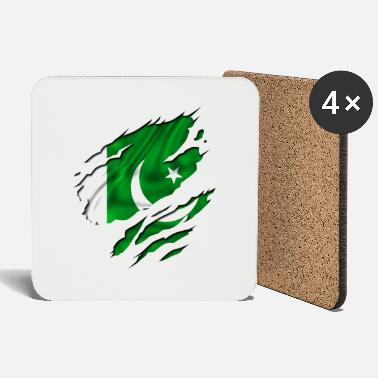 Country Flag Football Sport And Arab Art Jesus country flag pakistan - Coasters