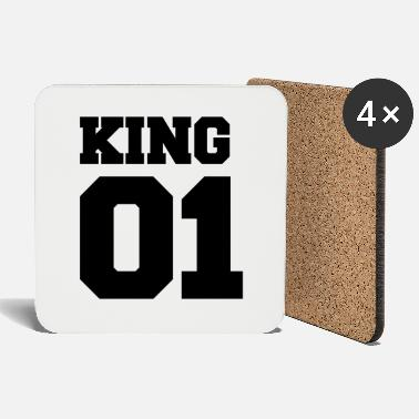 Jersey Number king 01 - Coasters