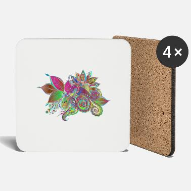 Decoration Flowers ornamental decoration - Coasters
