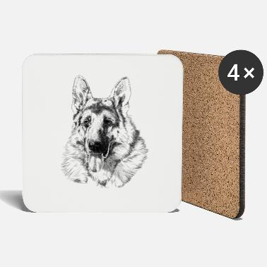 German Shepherd German shepherd - Coasters