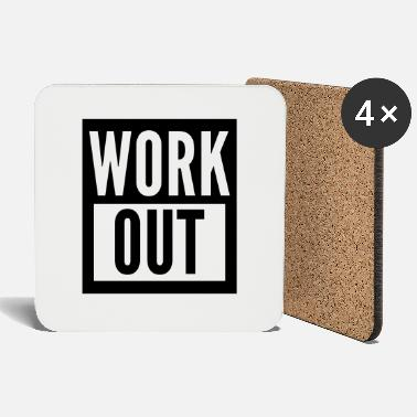 Work Out work out - Coasters