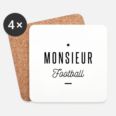 Football monsieur football - Dessous de verre (lot de 4)