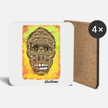Tattoo Skull - Coasters